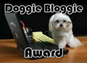 Doggie Bloggie Award